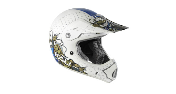 Kali Mantra Helm white